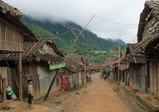 Mae La refugee camp on the Thai-Burmese border. (PHOTO: Feliz Solomon/DVB)