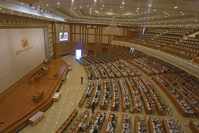 Burma's parliament will discuss the proposal to keep the retirement age at 60, instead of increasing it to 63. (PHOTO: Wikicommons).