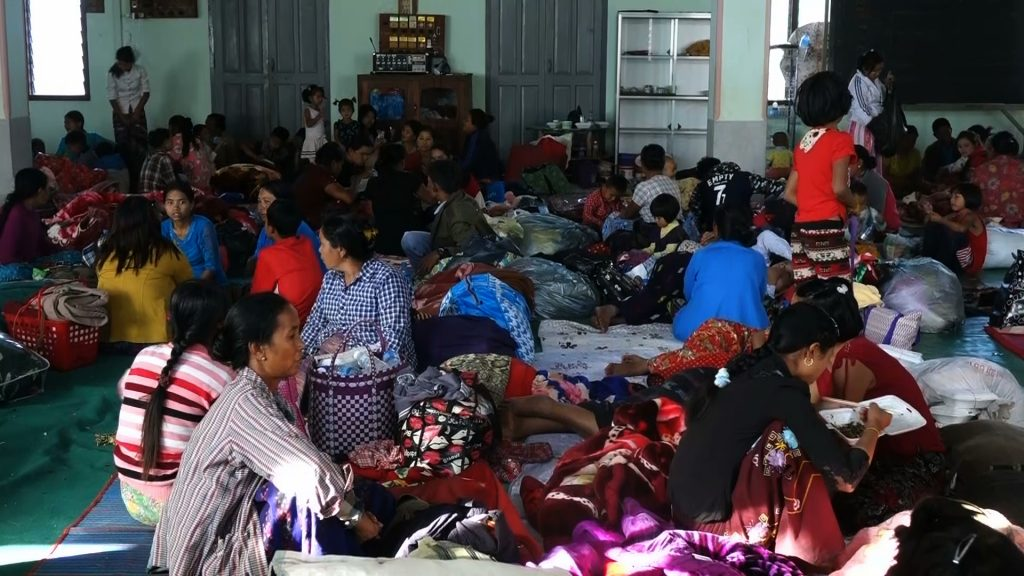 Thousands flee to China during govt, militia clashes- DVB