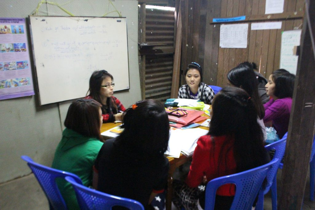 Kuki Women offer a three month program for girls and women can learn about human rights, democracy, violence against women, basic english and computer skills.